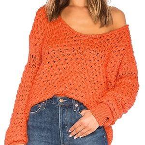 NWT Free People Crashing Waves Sweater